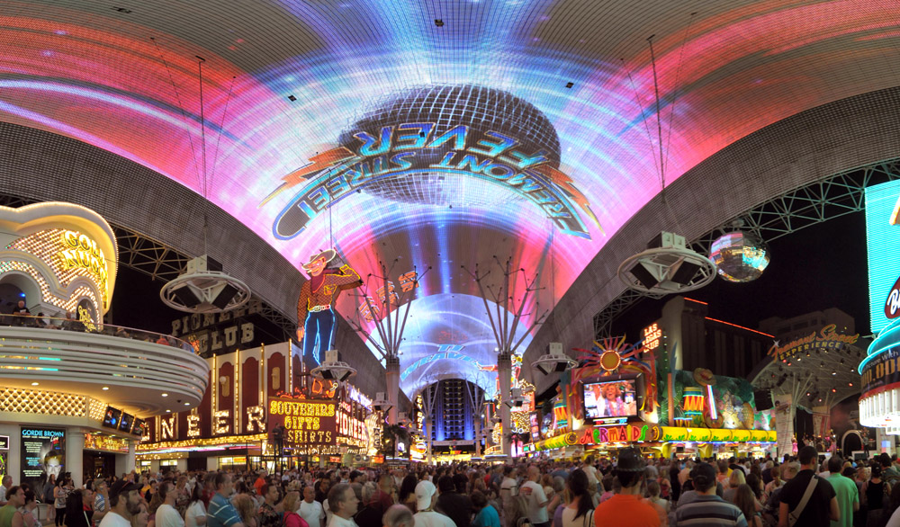 "Fremont Street Experience presents ""Summer of the '70s"" 6/4/10."