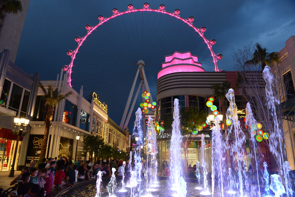 4/11/14 The Linq with the High Roller