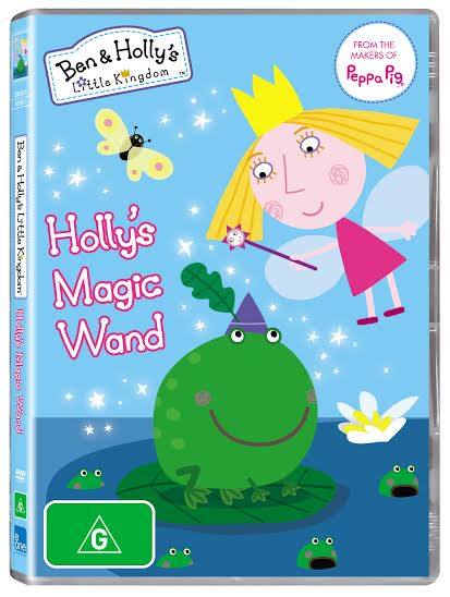 GIVEAWAY: WIN A COPY OF BEN & HOLLY'S LITTLE KINGDOM – HOLLY'S MAGIC WAND